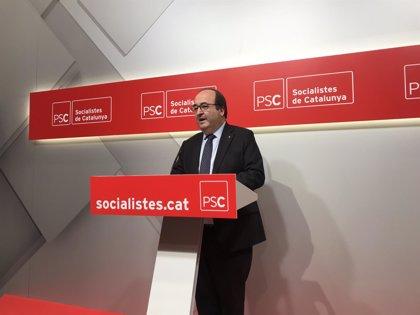 """Iceta (PSC) ve posible que hubiera sedición porque """"habla de intentar romper España"""""""