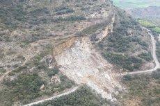 Els morts en el despreniment del Castell de Mur seran enterrats a Tremp (Lleida) (@BOMBERSCAT)