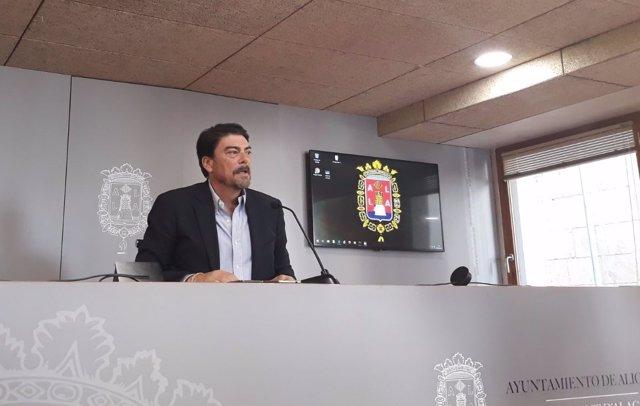 Luis Barcala en imatge d'arxiu