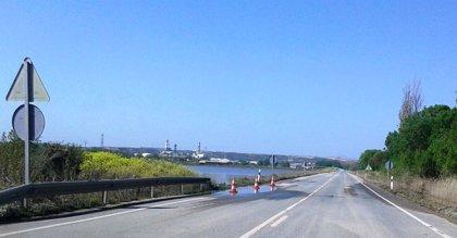Se abre al tráfico la N-113 en Castejón, única vía de la red principal que permanecía cerrada por inundaciones