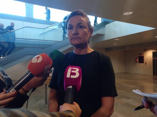 La fiscal de la AN, María Antonia Sanz
