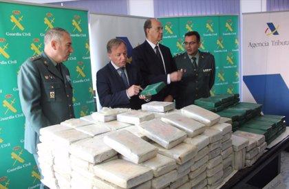 Interceptados 325 kilos de cocaína en dos contenedores de peras y pasas en el Puerto de Valencia