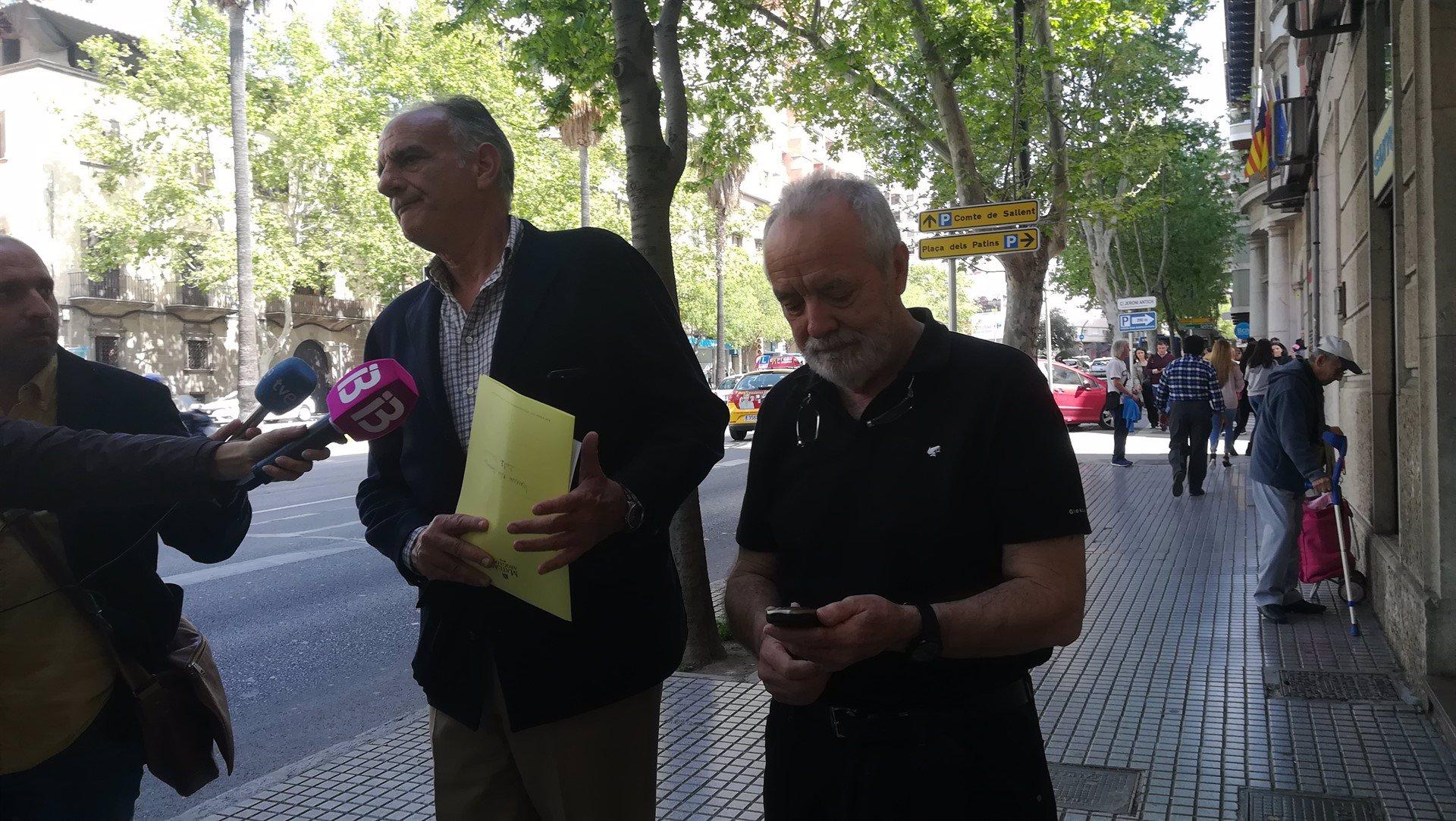 Cursach entrega su pasaporte en el Juzgado