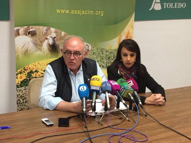 Fresneda y Corroto en rueda de prensa
