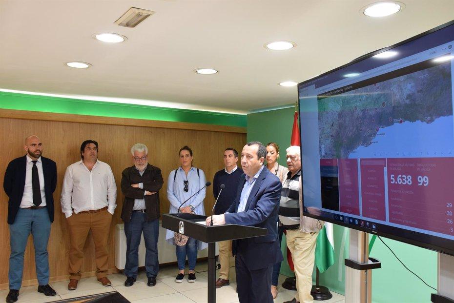 Foto: La Junta procederá a localizar y exhumar 16 víctimas en una fosa de Alfarnate (JUNTA DE ANDALUCÍA)