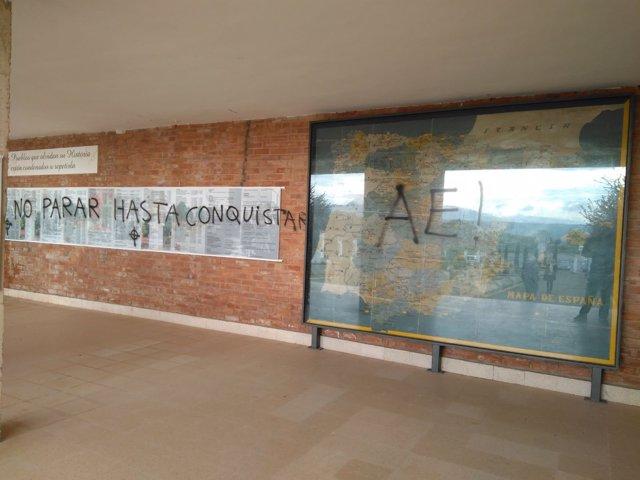Pintadas en La Barranca