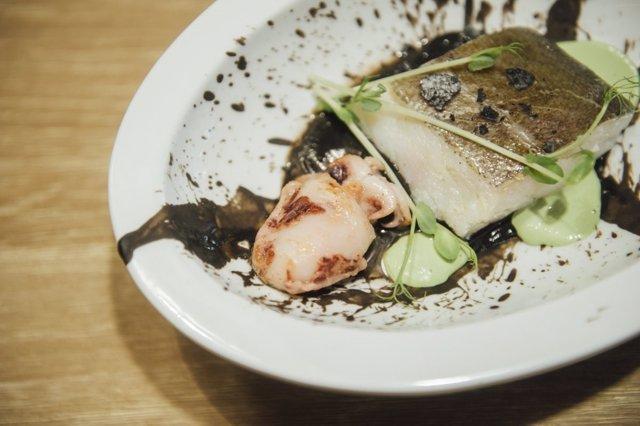 Uno de los platos de la 18 València Cuina Oberta