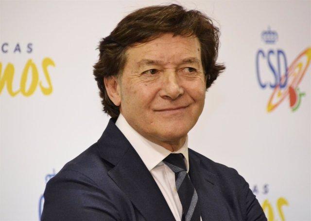 José Ramón Lete, presidente del Consejo Superior de Deportes