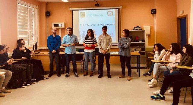Presentación de talleres Código Joven en Chiclana