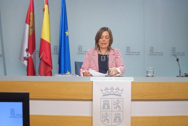 Marcos tras la rueda de prensa del Consejo. Valladolid 19/04/2018