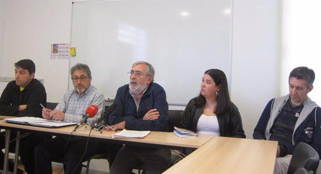 Rueda de prensa de presentación de manifestación de comuneros