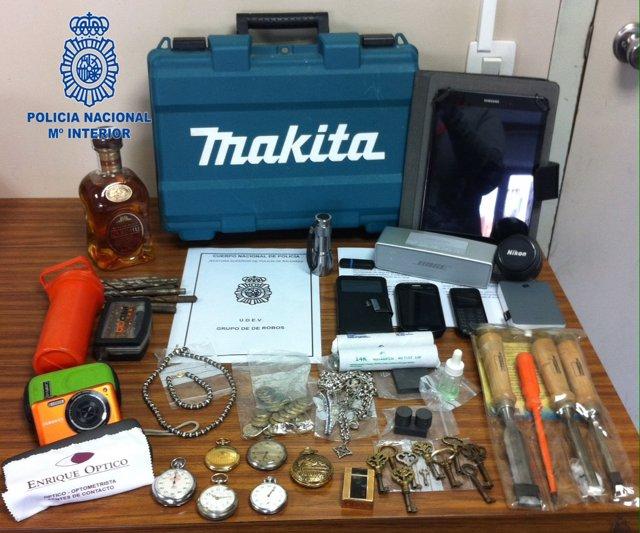 Ingresa en prisión un hombre de 60 años por cometer varios robos con fuerza y violencia en domicilios de Palma