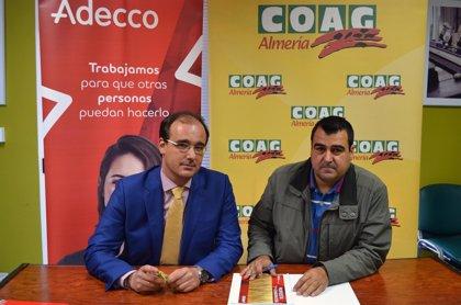 COAG y Adecco firman un acuerdo para la gestión de recursos humanos en materia agraria