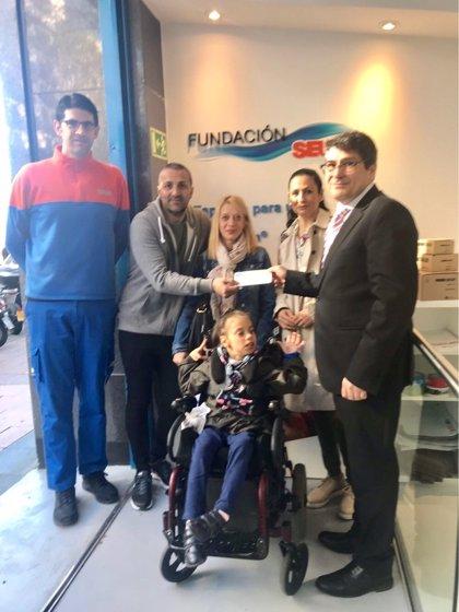 Un proyecto de la Fundación SEUR permite recaudar 127.140 euros para que 22 niños puedan acceder a tratamiento médico