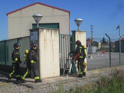 Los Bomberos de Gijón y EDP realizan con éxito un simulacro en la subestación eléctrica de Gijón Norte