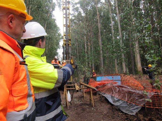 Lavandeira, de Atalaya Mining, empresa que quiere explotar la mina de Touro