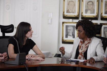Maestre se reúne con vicepresidenta electa de Costa Rica y abordan la cooperación y la lucha contra violencia machista