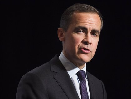 Carney (BoE) modera las expectativas de una subida de tipos en mayo