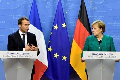 Merkel y Macron reafirman la voluntad de superar sus diferencias sobre la reforma de la UE