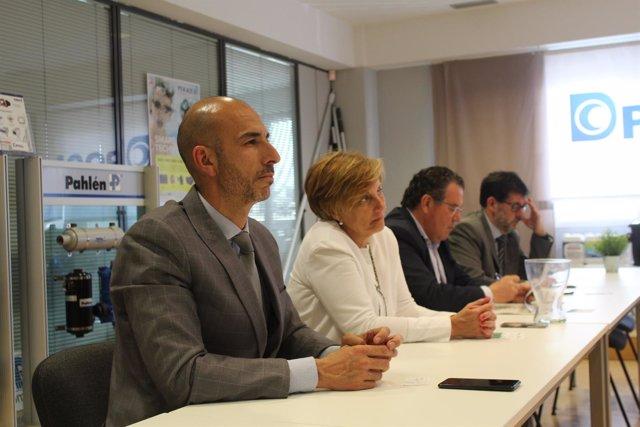 González Menorca visita Diasa Industrial
