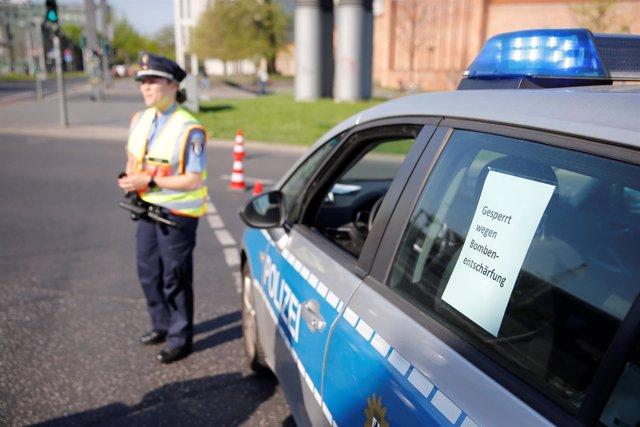 Desactivación de una bomba sin detonar en Berlín