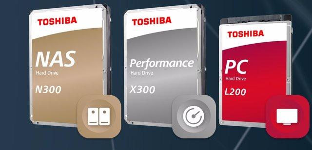 Toshiba amplía N300, X300 y L200 con nuevos modelos de más capacidad