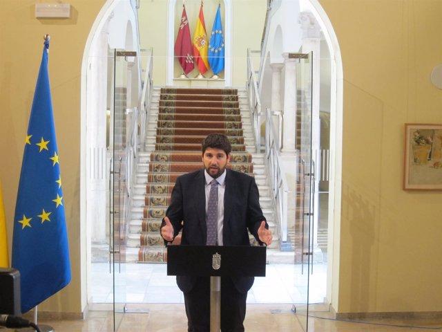 López Miras anuncia cambios en su Gobierno