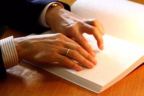 Lectura braille