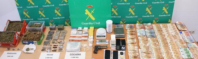 Guardia Civil incauta droga en Andratx