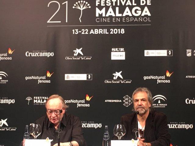 Presentación de Invisible en el Festival de Málaga