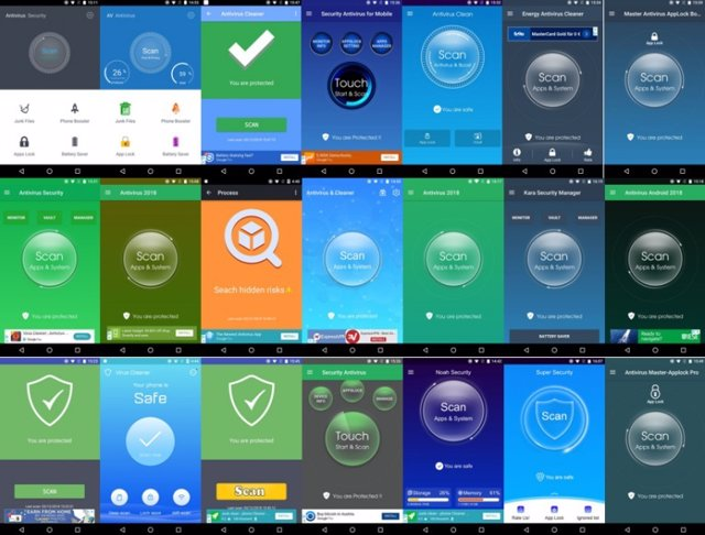 Supuestas apps de seguridad que difundían publicidad