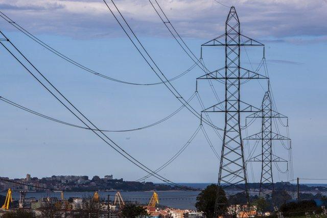 Suministro eléctrico, torres