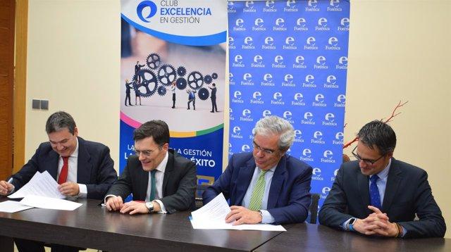 El Club Excelencia en Gestión y Forética firman un acuerdo de colaboración