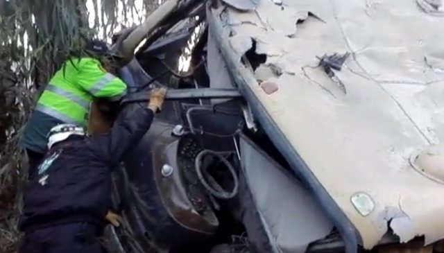 Accidente de bus Arequipa
