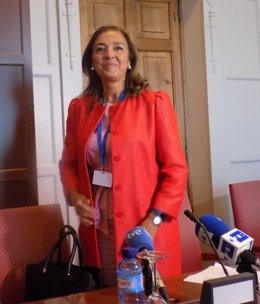 Carmen Vela, foto de archivo