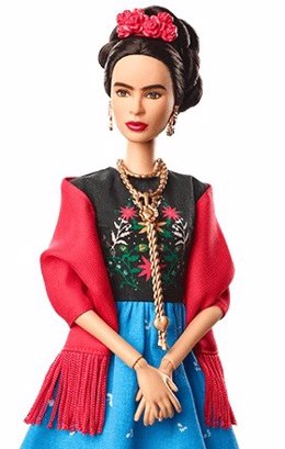 ñeca Barbie de Frida Kalho