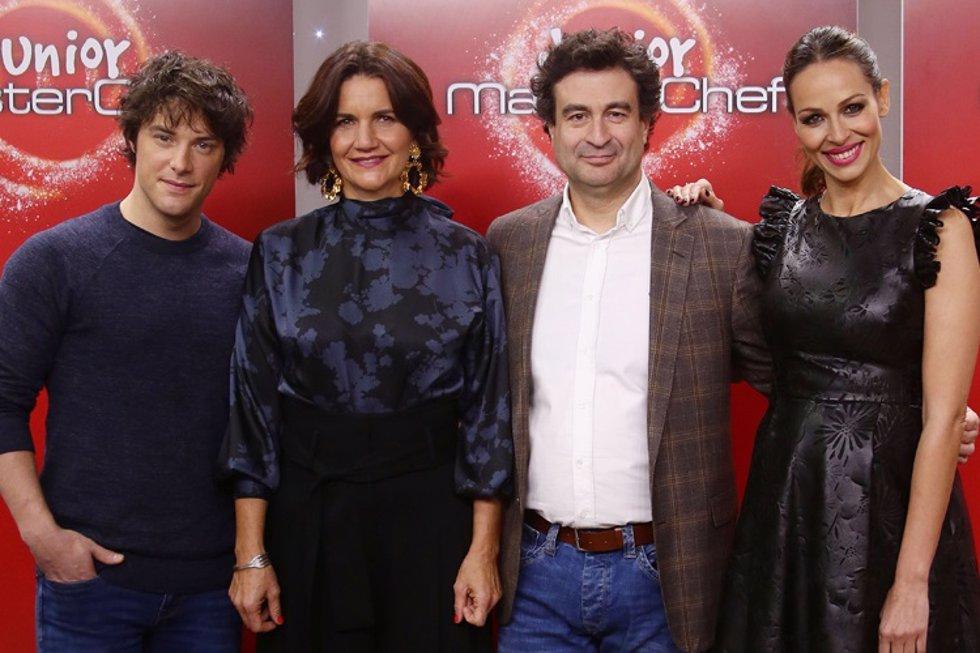 Jordi Cruz, Samantha Vallejo-Nágera, Pepe Rodríguez y Eva G.