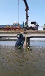 Rescatado el cuerpo sin vida de la conductora del turismo caído al Ebro, en Chiprana