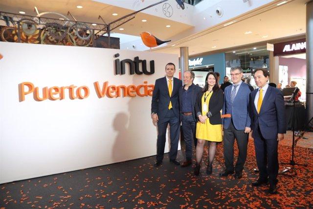 Acto de presentación de la nueva etapa de intu Puerto Venecia.