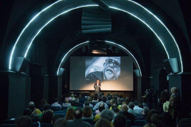 Homenaje a Reyes Abades en la Filmoteca de Extremadura
