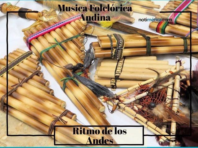 Flauta de Pan y Rondador, instrumentos de la música folclórica andina
