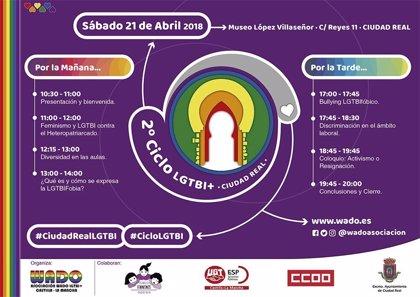 Ciudad Real acoge este sábado el segundo ciclo LGTBI+ que busca luchar contra la 'LGTBIfobia'
