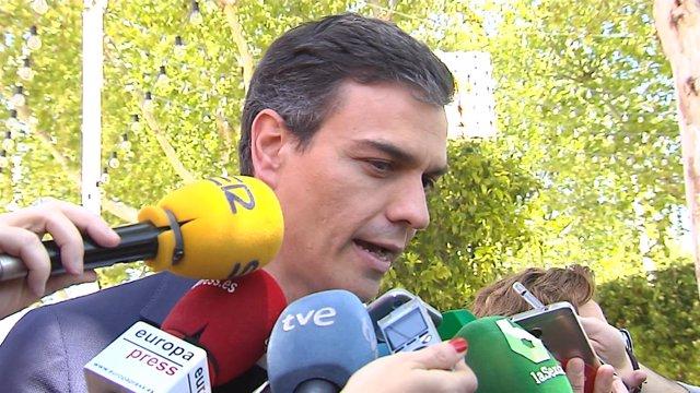 Sánchez ha acudido a la feria de Abril en Sevilla