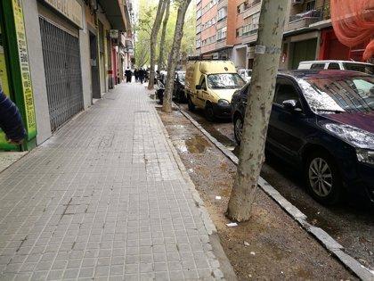 El PAR reclama actuaciones urbanísticas para favorecer a los vecinos y al comercio del barrio de La Jota