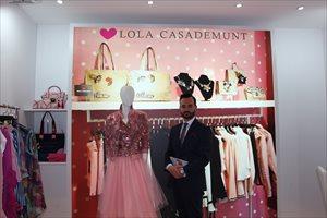 Lola Casademunt, una firma del sector de la moda que busca ampliar sus fronteras en EXPOFRANQUICIA 2018