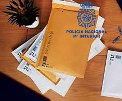 """Identificado el presunto autor de múltiples estafas mediante el """"falso envío"""" de paquetería"""