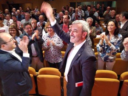 Jaume Collboni, proclamado candidato del PSC a la Alcaldía de Barcelona