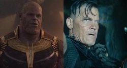 El villano Thanos vs el mutante Cable (MARVEL)