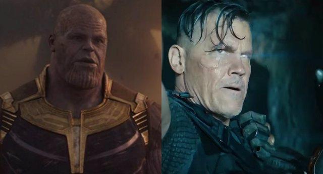 Thanos y Cable
