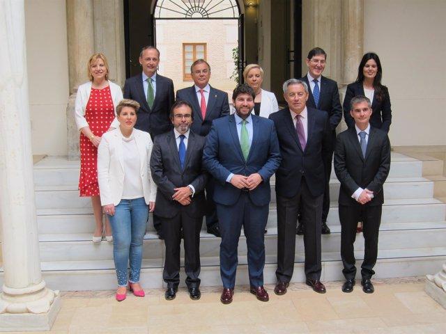 El nuevo Equipo de Gobierno de la Región de Murcia